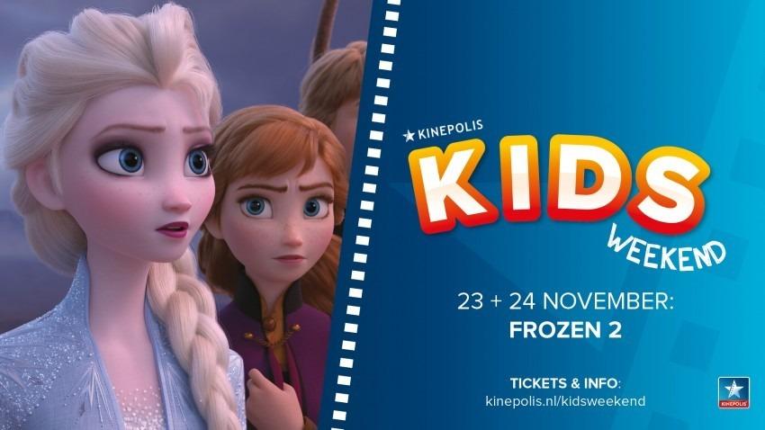Kinepolis filmtips voor november Frozen II