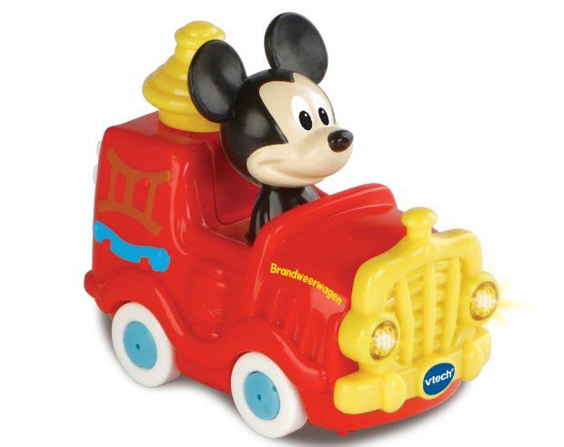 Toet Toet Auto's Disney - Mickey Brandweerwagen