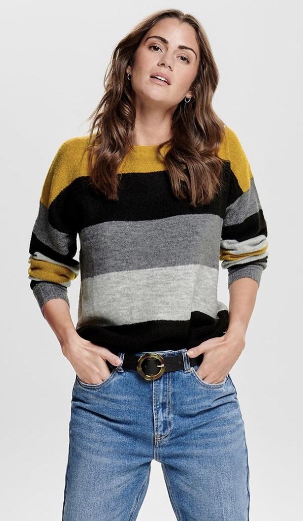sweater wheater, streepjes trui