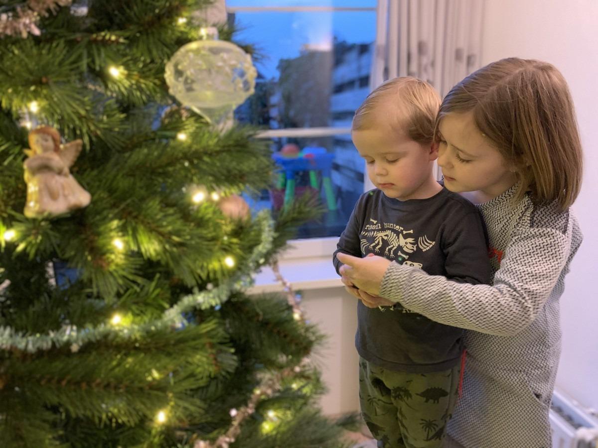 Een kunstboom voor Kerst