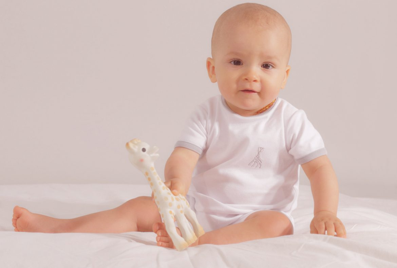 Babykledinglijn van Sophie de giraf