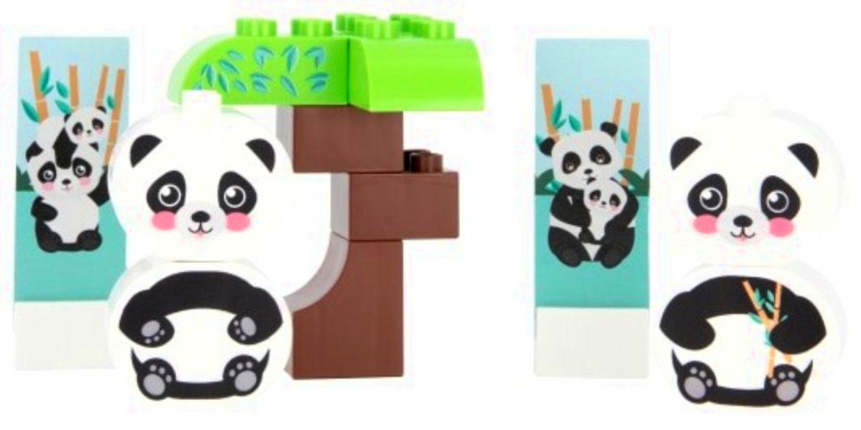 duurzame bouwstenen, Bioplastic speelgoed sets
