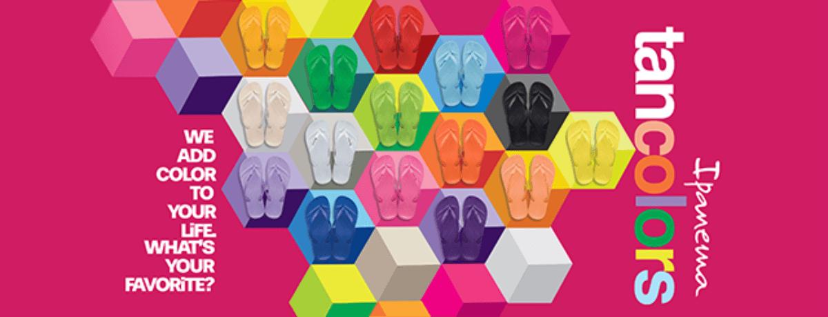 Tan Colors voor kids, duurzame vegan slippers, flipflops, Ipanema slippers voor kinderen