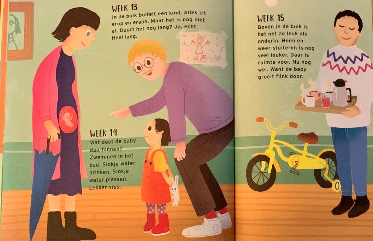 prentenboek diversiteit zwangerschap zwangerschap in beeld