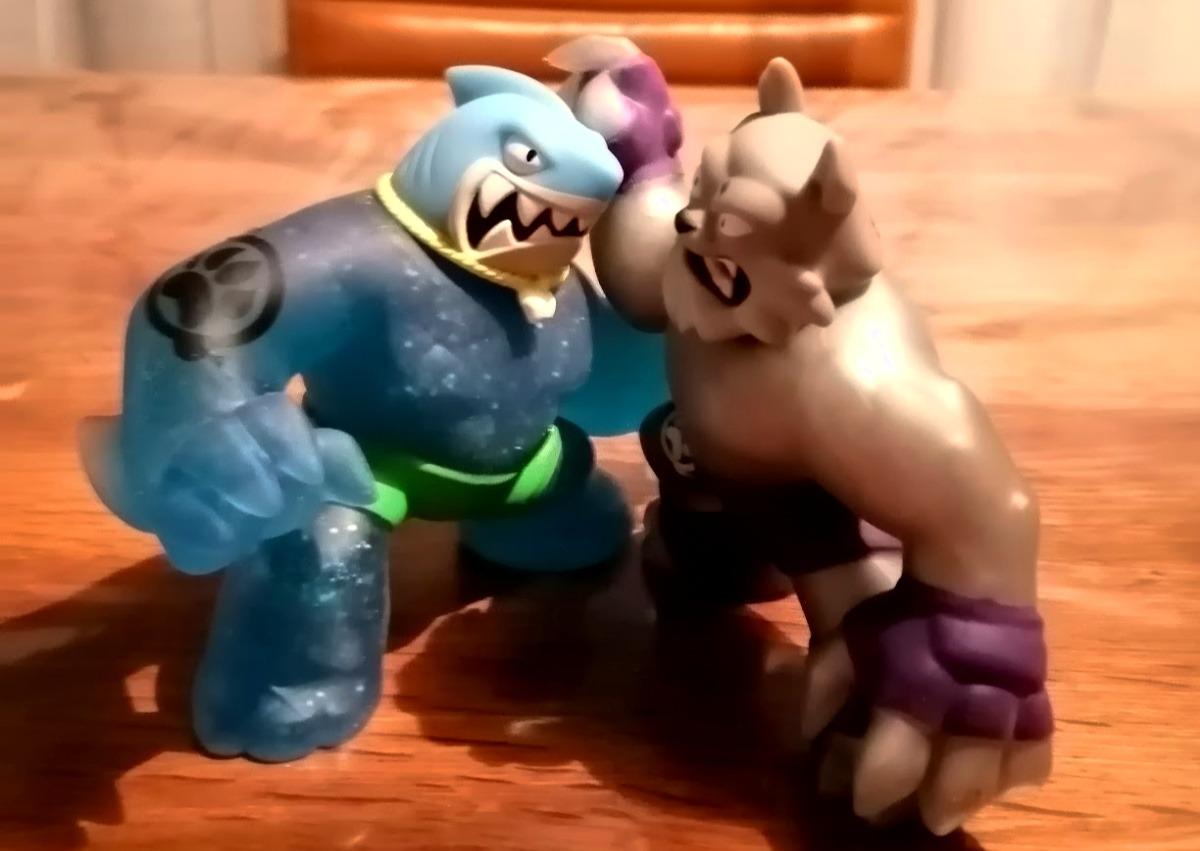 Goo Jit Zu review superhelden speelgoed