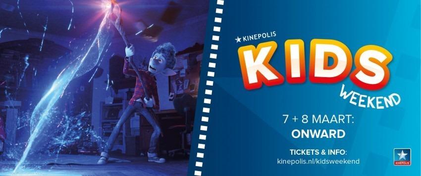 magisch Kids Weekend bij Kinepolis met ONWARD