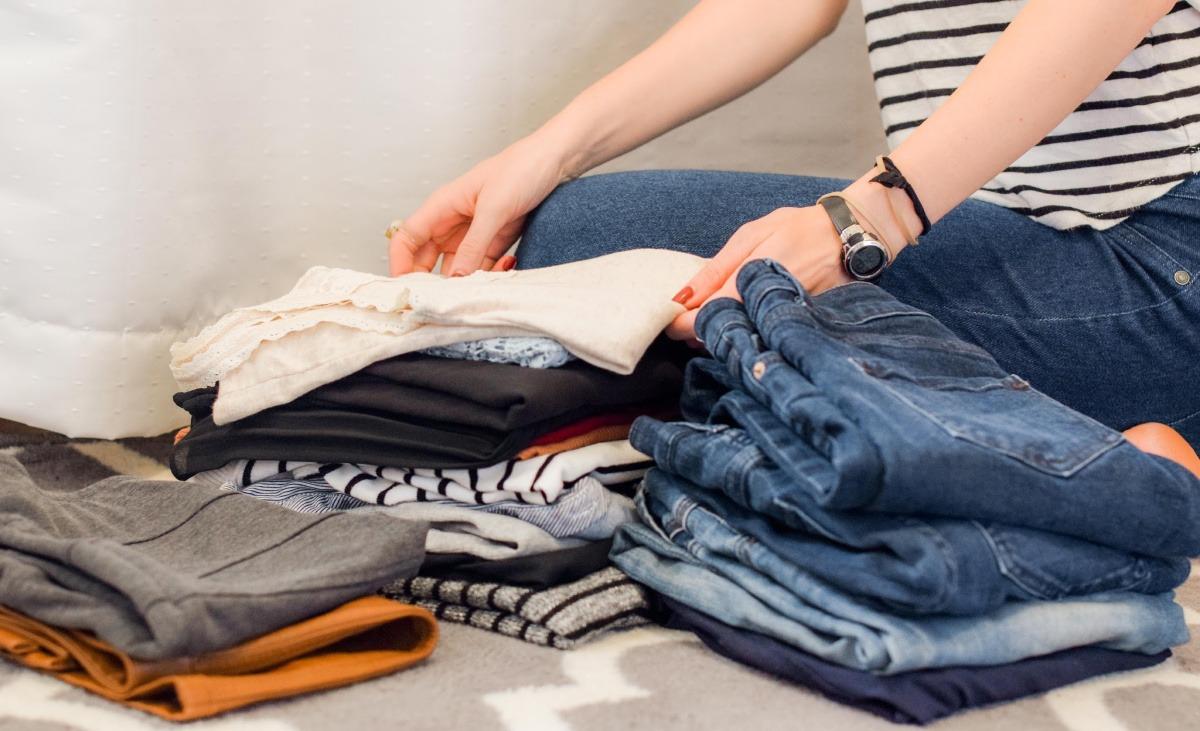 Lenteklaar maken garderobe
