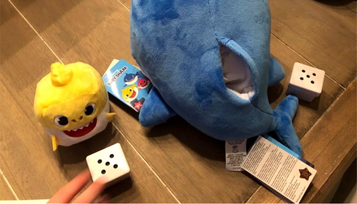 geluidsblokjes Baby Shark speelgoed