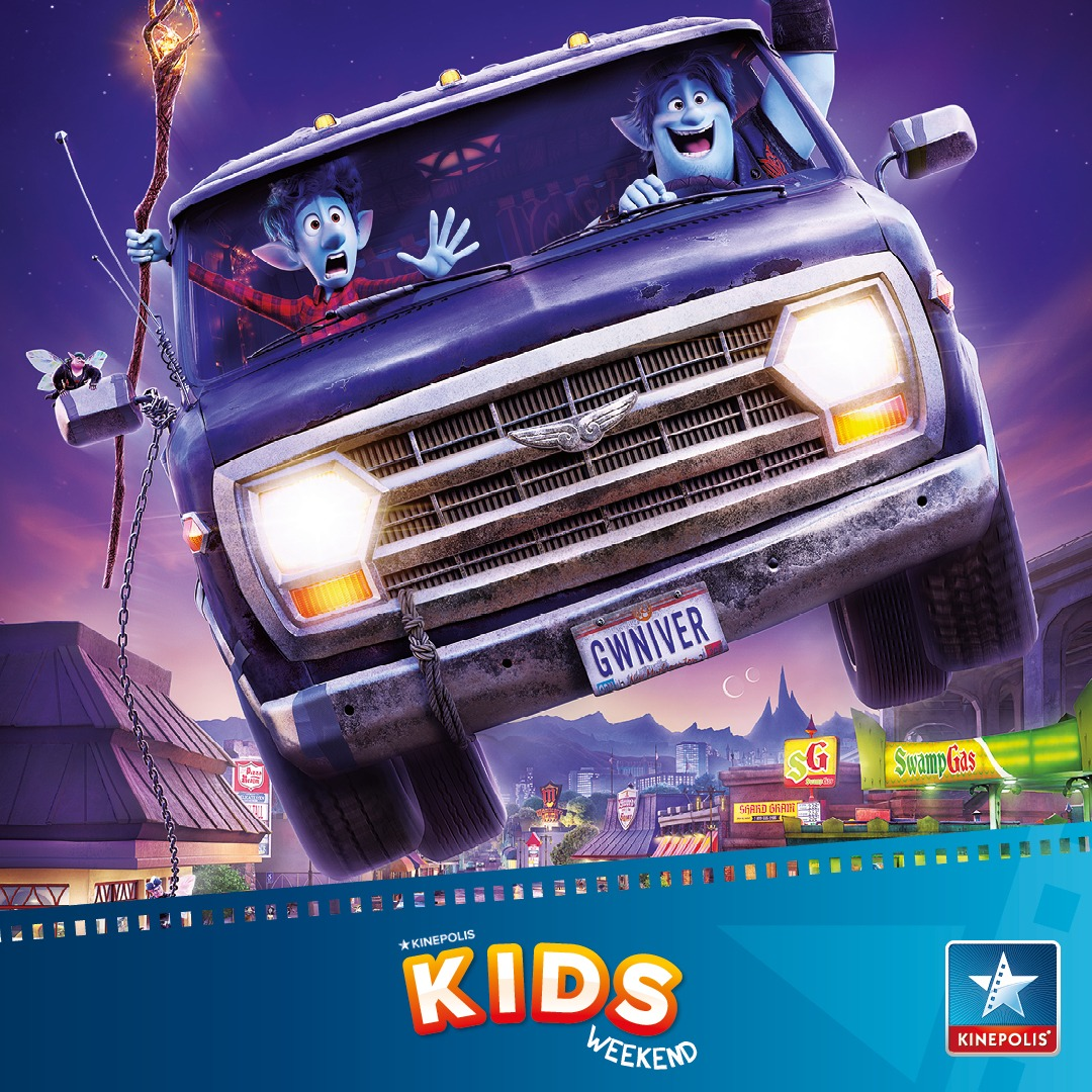 magisch kinepolis kidsweekend onward disney pixar magisch Kids Weekend bij Kinepolis met ONWARD