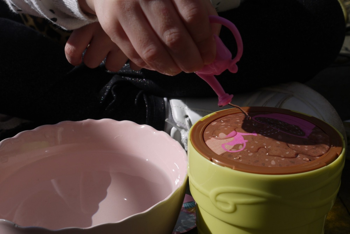 blume serie 2 bloempot water geven