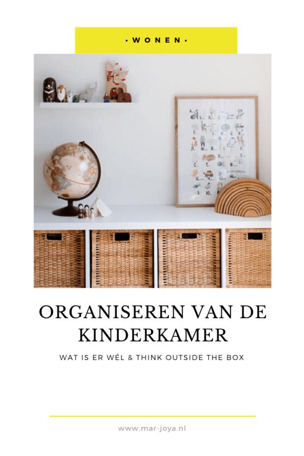 Organiseren van de kinderkamer