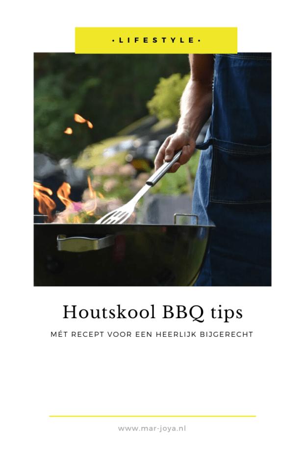 Houtskool BBQ tips pinafbeelding