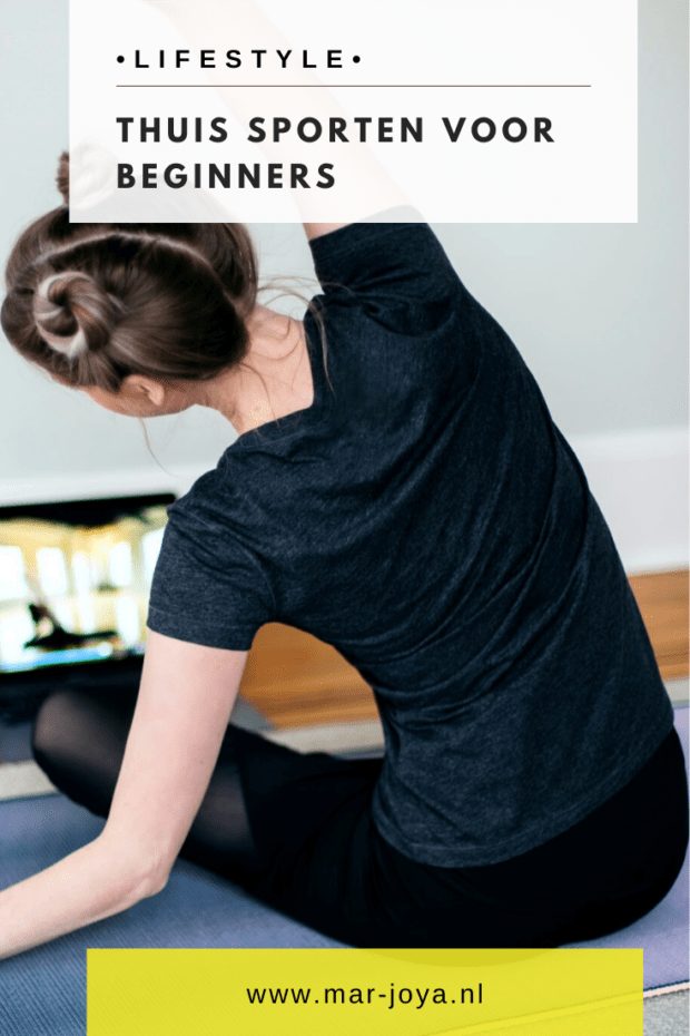 waar om denken bij thuis sporten, home workout routine