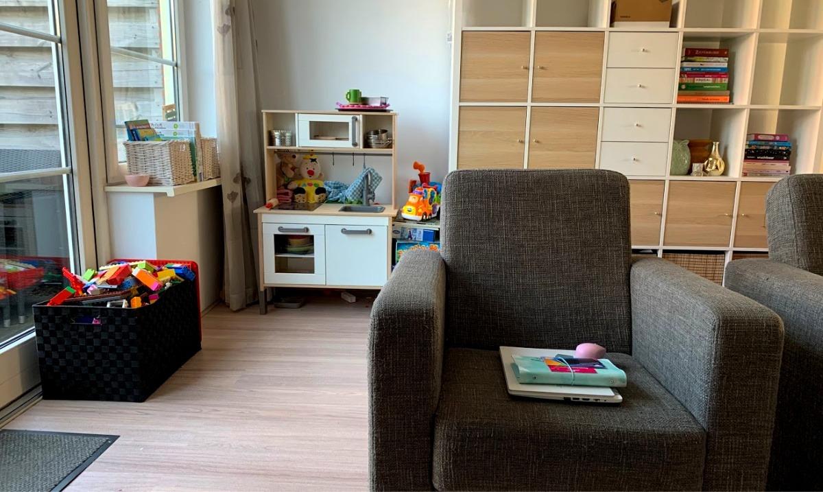 kinderhoek maken in je woonkamer