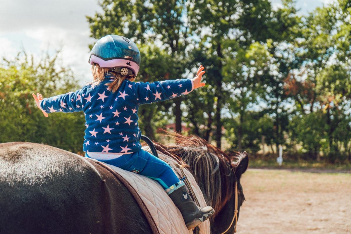 mijn kind wil op paardrijden