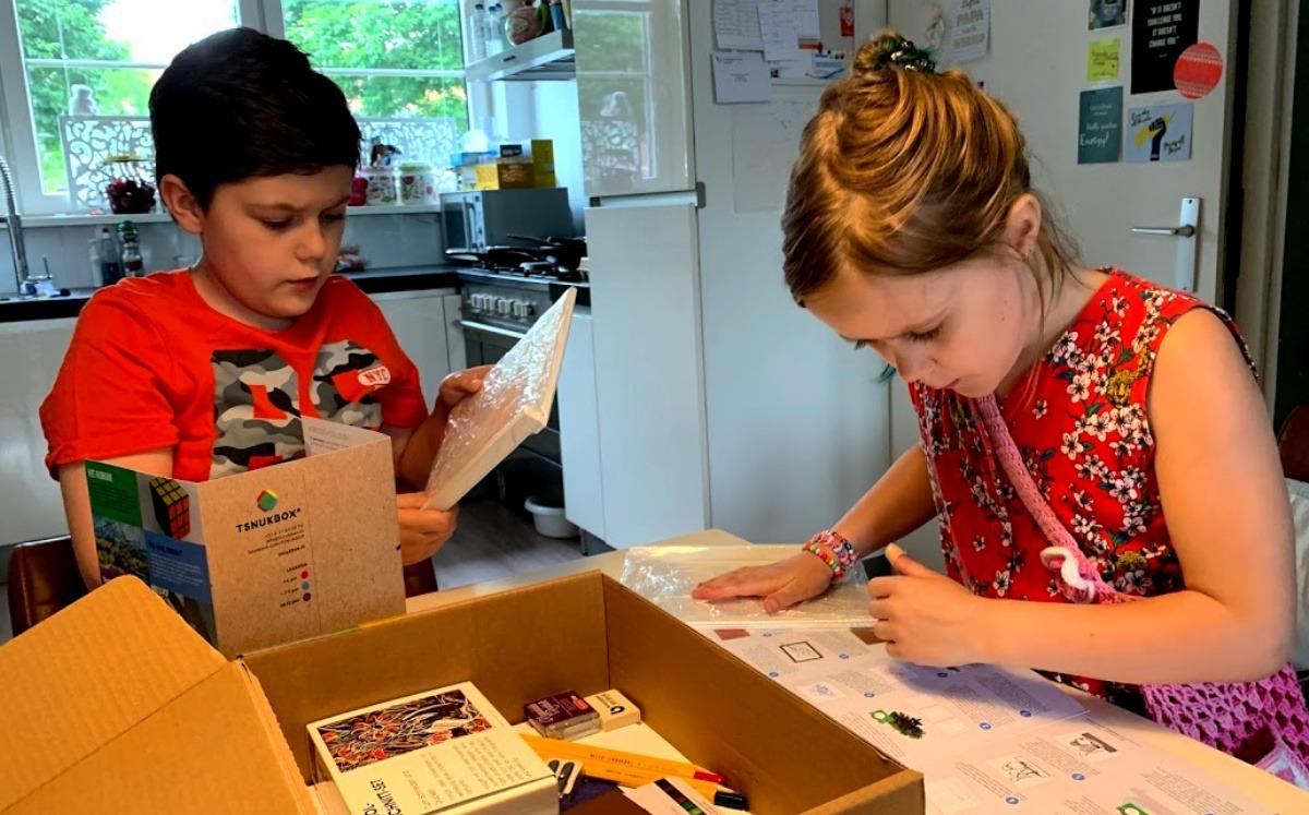 unboxing creatief cadeau voor je kind