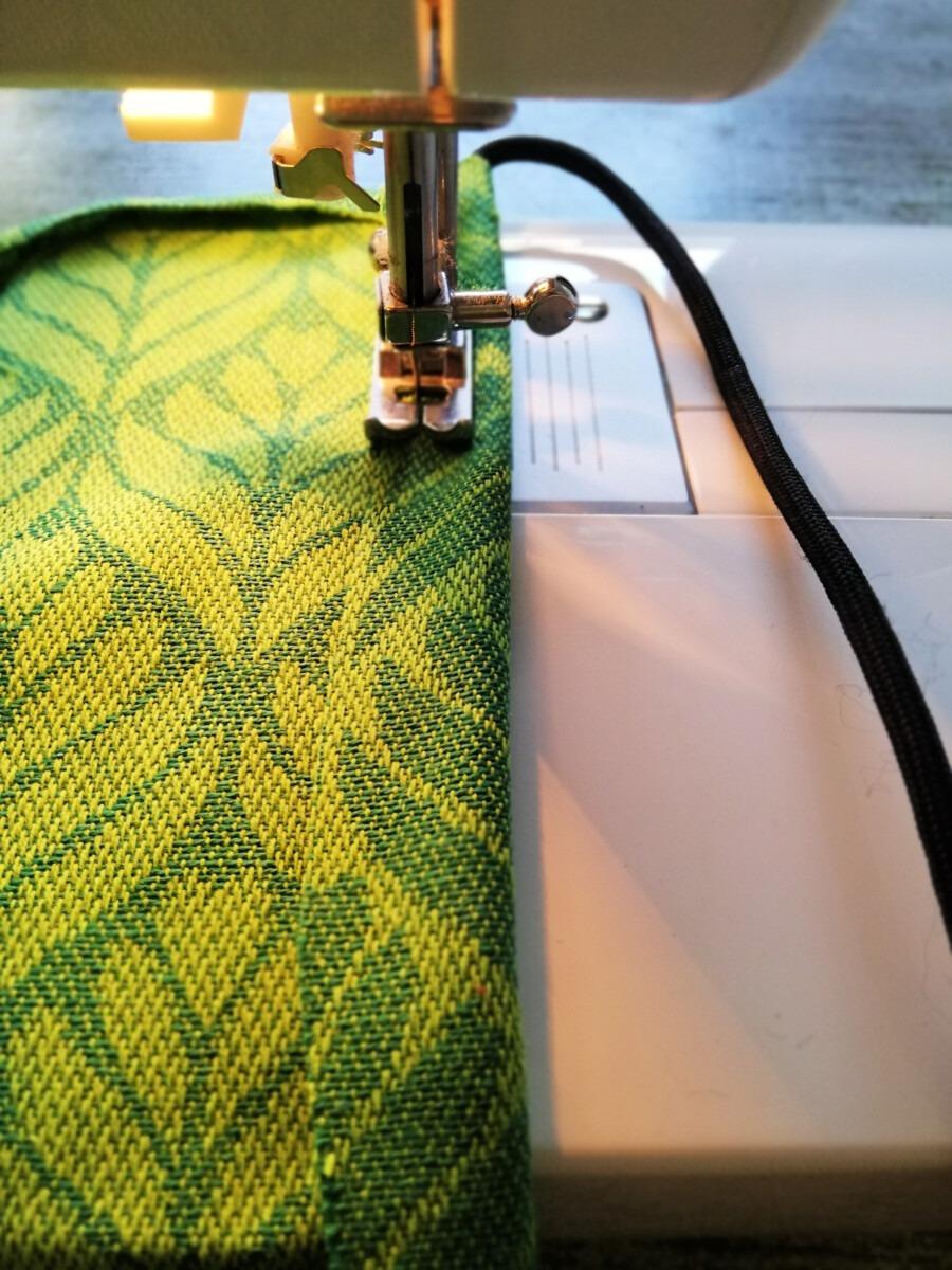 Cadeautasje stof zelf naaien DIY
