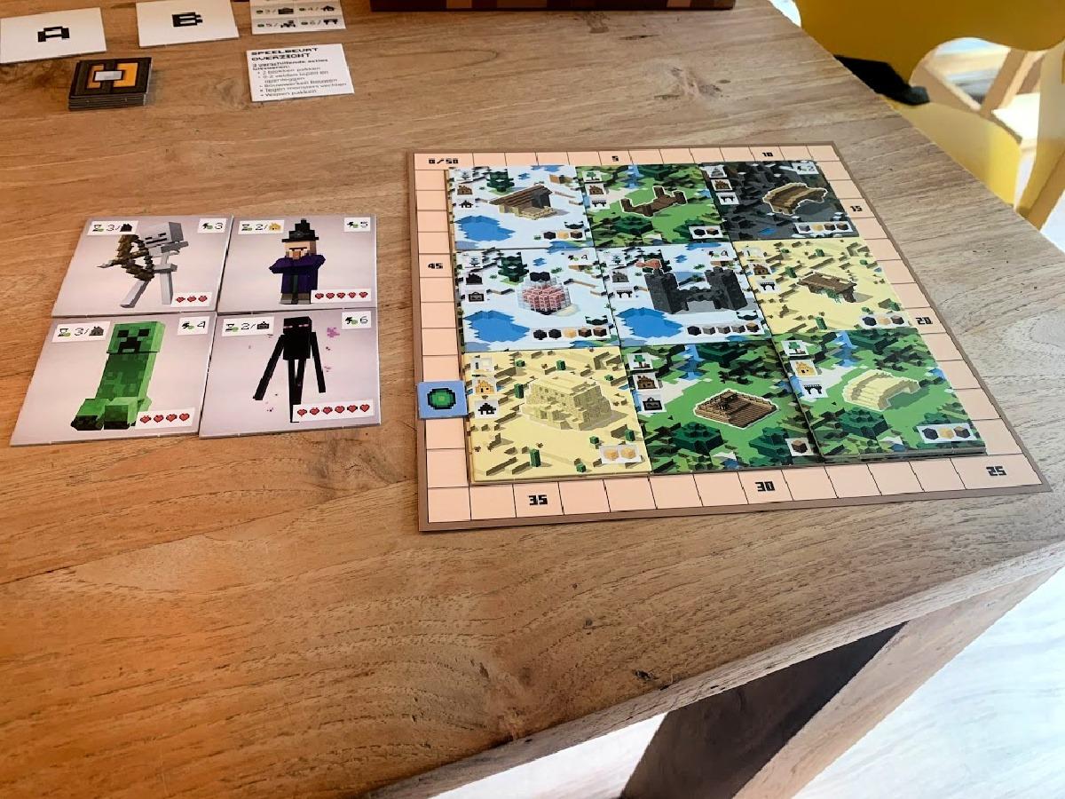 bordspel minecraft puntentelling