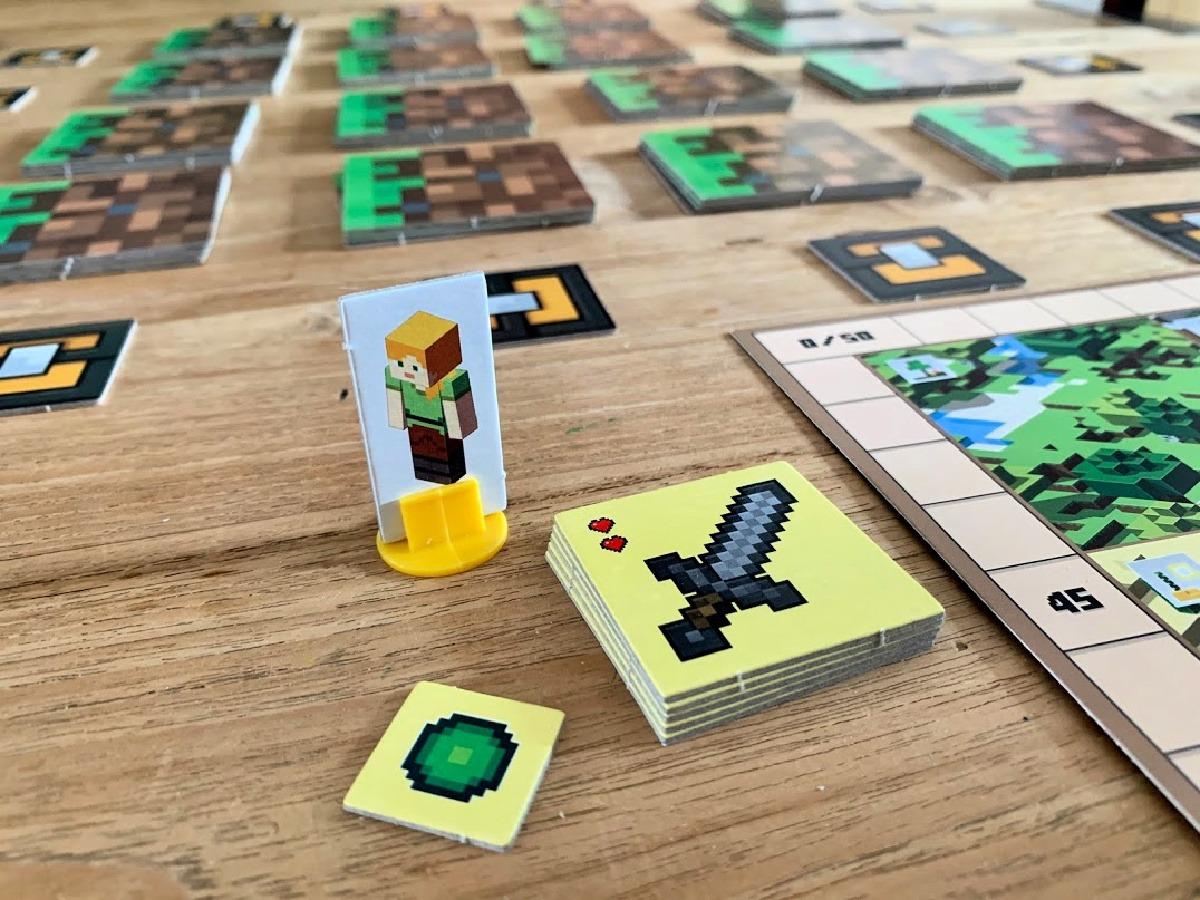bordspel minecraft