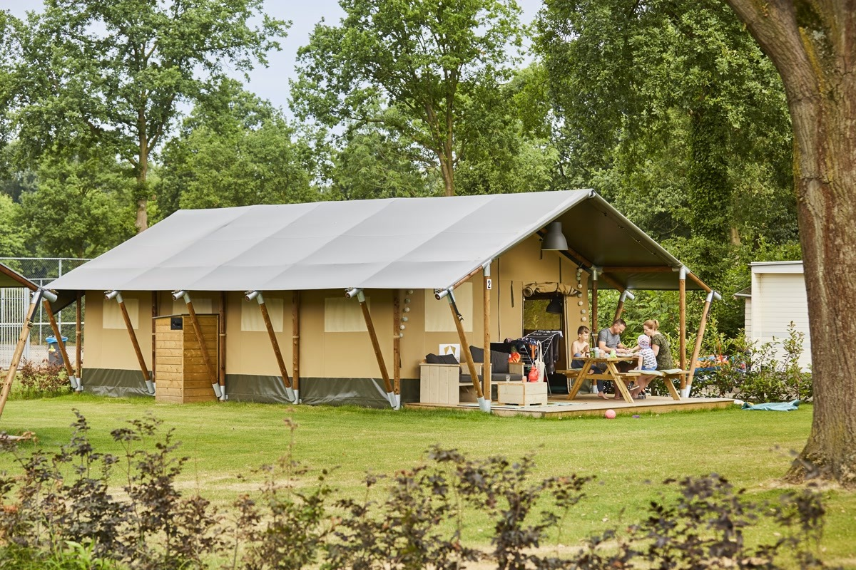 glamping tent de Leistert