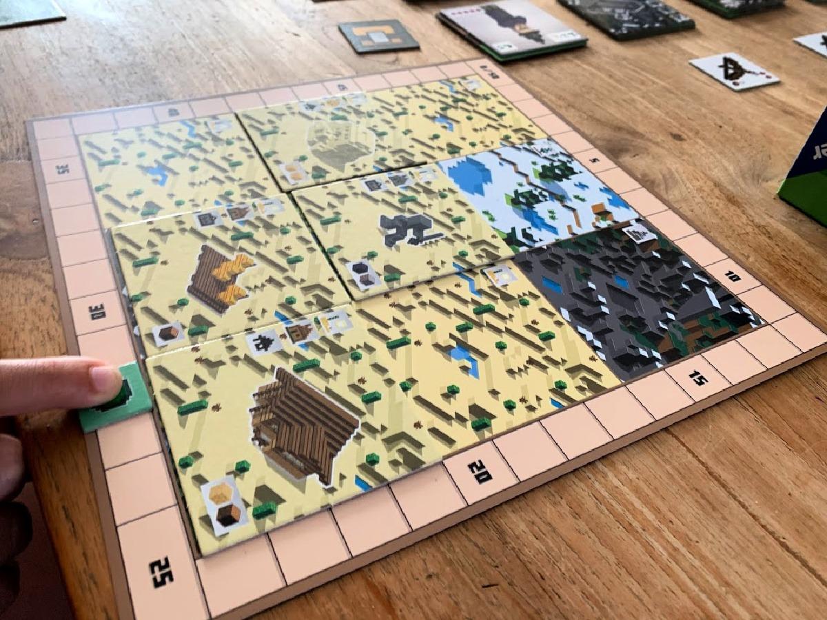 minecraft bordspel review