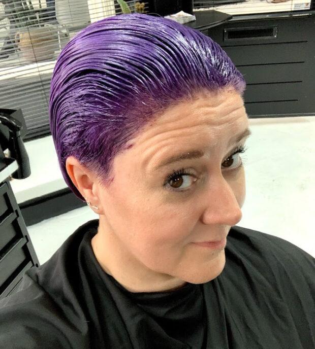 haarkleuring salon 51 goldwell colourist, kapper veendam