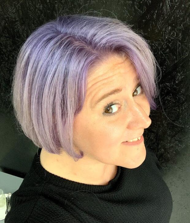makeover salon 51 lavendel haar