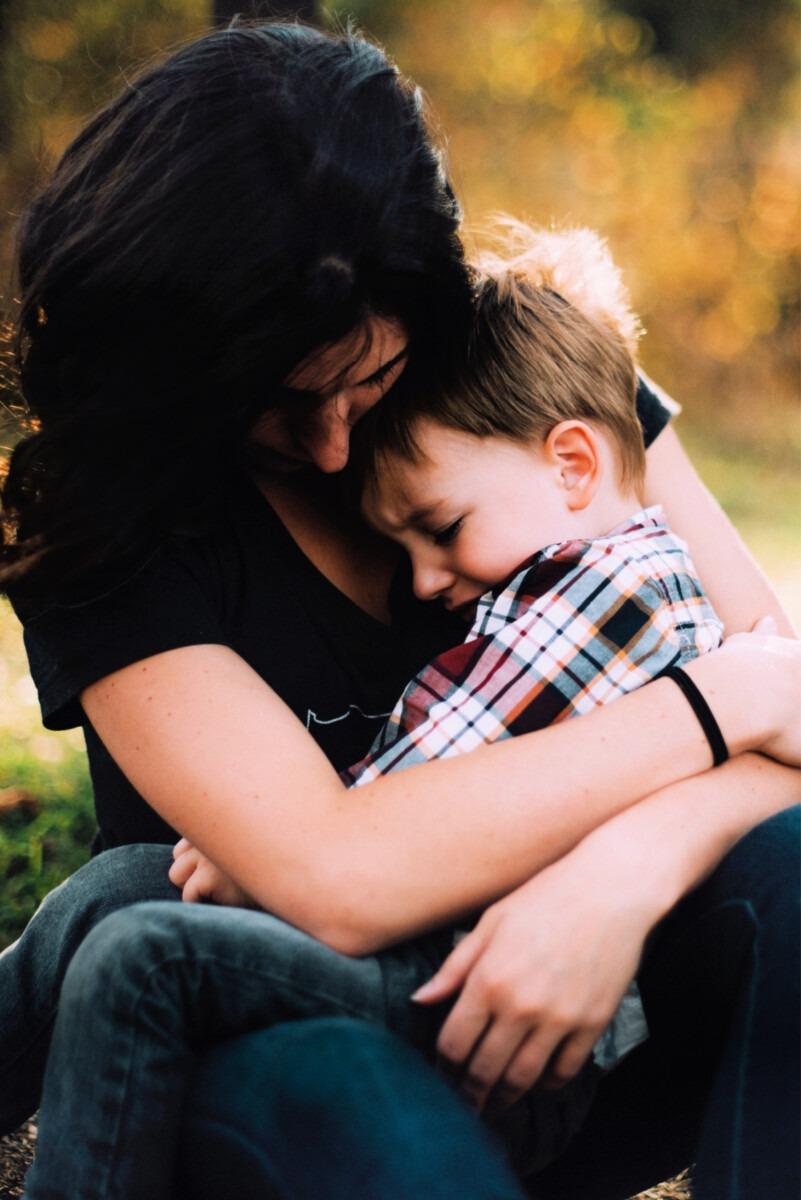 praten met kinderen over de scheiding