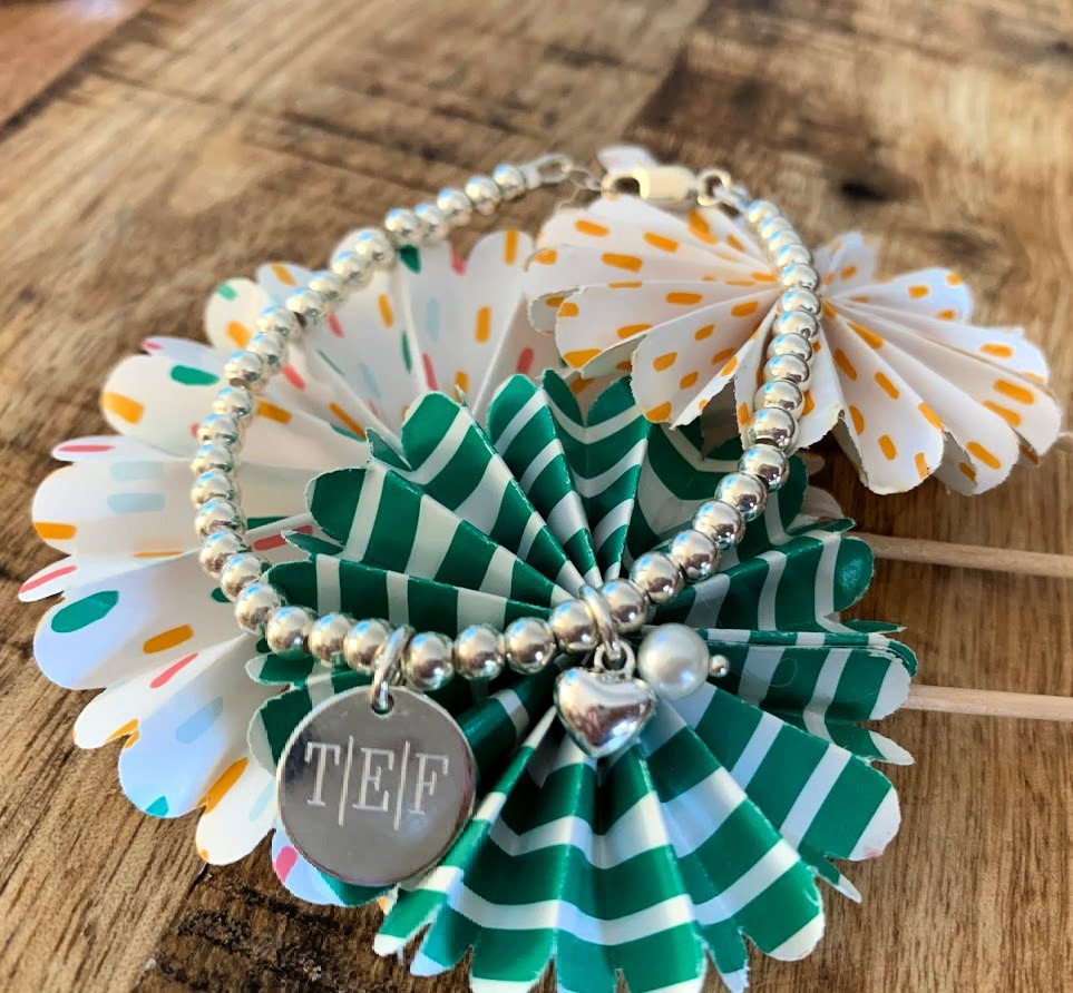 cute balls bracelet