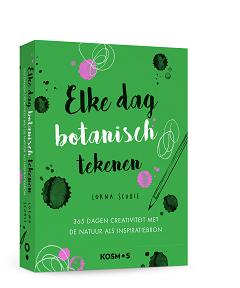 botanisch tekenen, Hobby en lifestyle boeken voor 2021