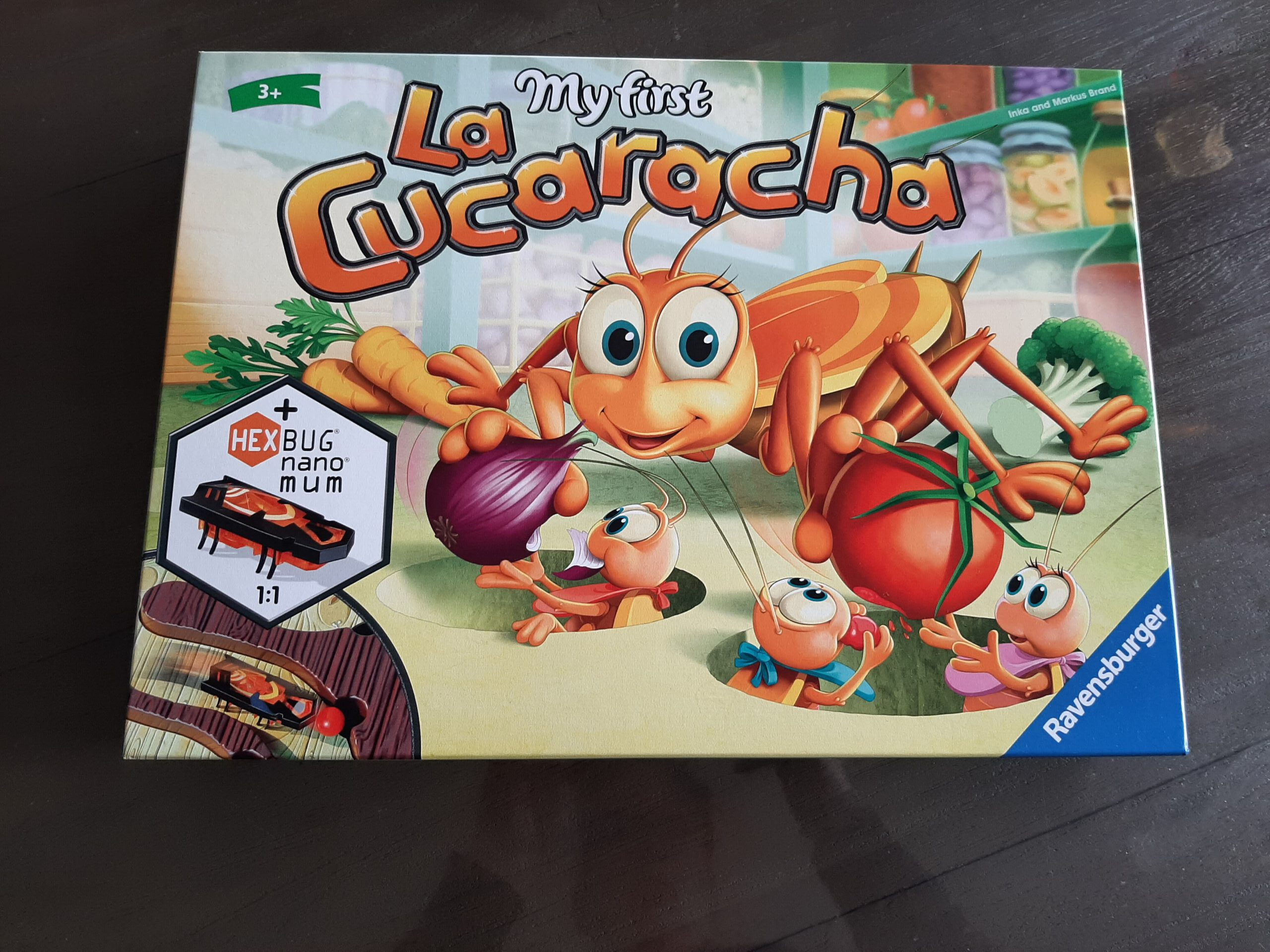 review my first la cucaracha