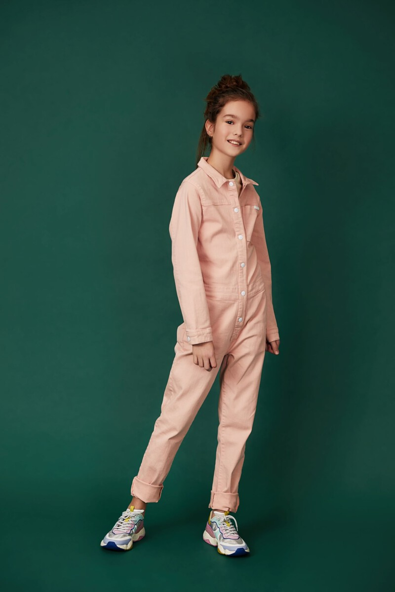 lichtroze overall tumble n dry