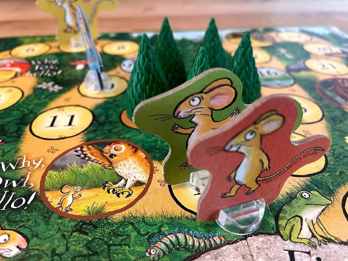 Ravensburger The Gruffalo- The Deep Dark Wood game