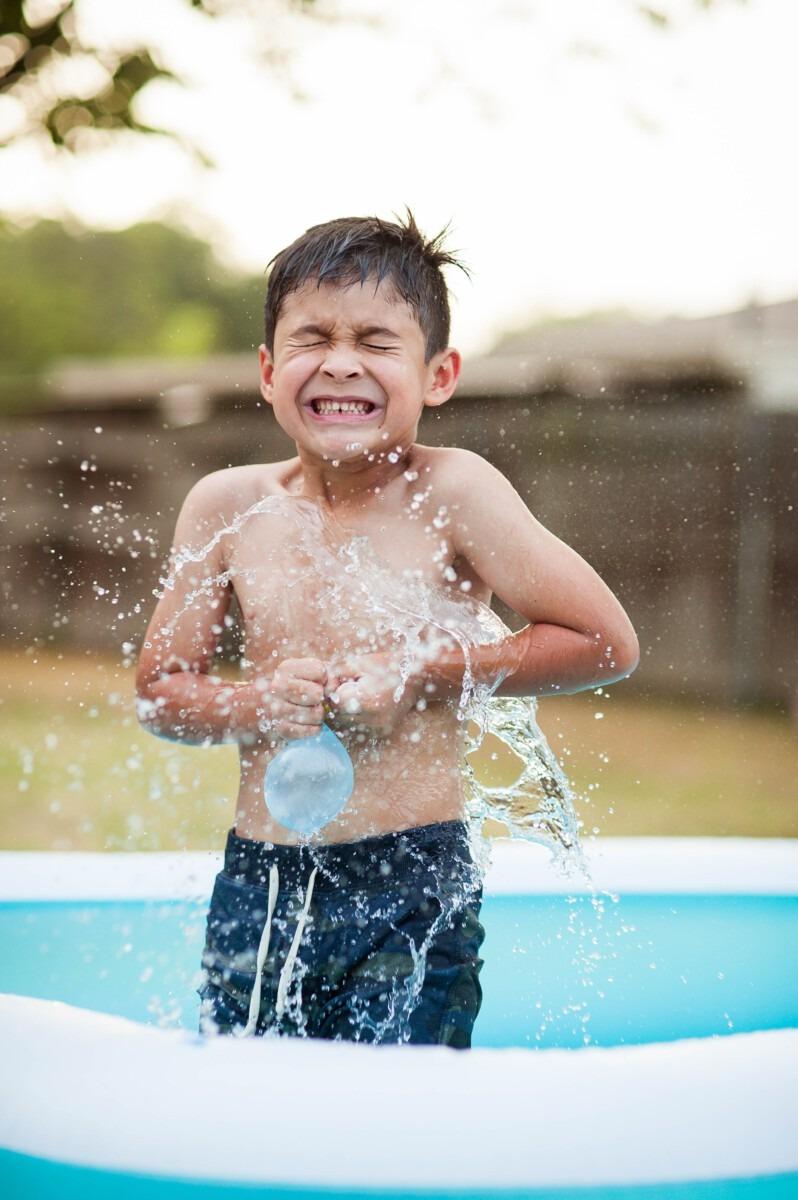 Veiligheid zwembad in de tuin