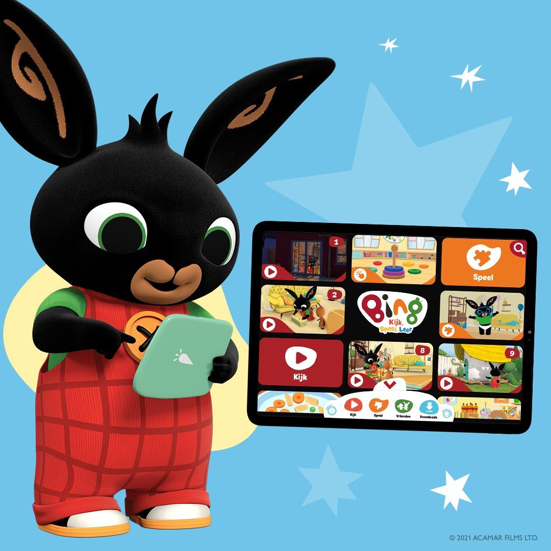 DeBing Kijk Speel Leer app voor de tablet van je kind