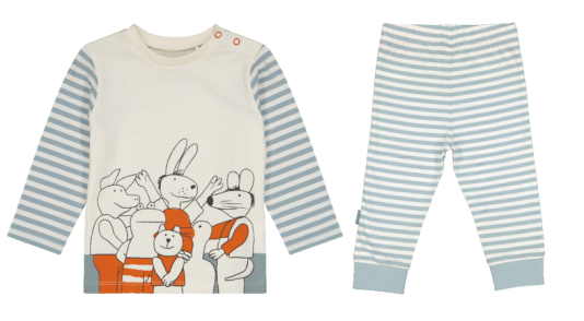 HEMA x KIKKER pyjamaset